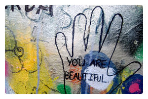 grafitty you are beautyfull